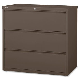 Lorell Fortress 3-Drawer Lateral File
