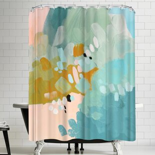 East Urban Home Annie Bailey Conclusions Shower Curtain