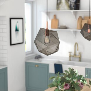 Bade 1-Light Geometric Pendant