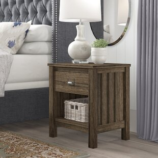 Olmstead 1 Drawer Nightstand by Gracie Oaks