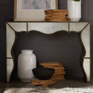 Arabella Mirrored Hall Solid Wood Console Table by Hooker Furniture SKU:AD737735 Purchase