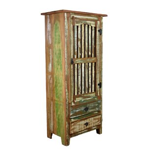 Hambly Distressed China Cabinet by Bloomsbury Market