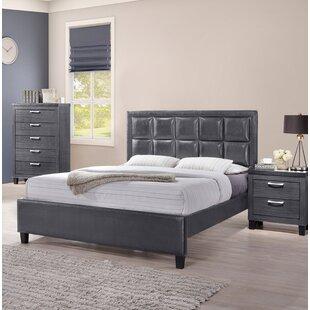 Testa Queen Upholstered Platform Bed by Wrought Studio