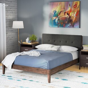 Mercury Row Cade Upholstered Platform Bed