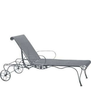 Woodard Briarwood Reclining Chaise Lounge