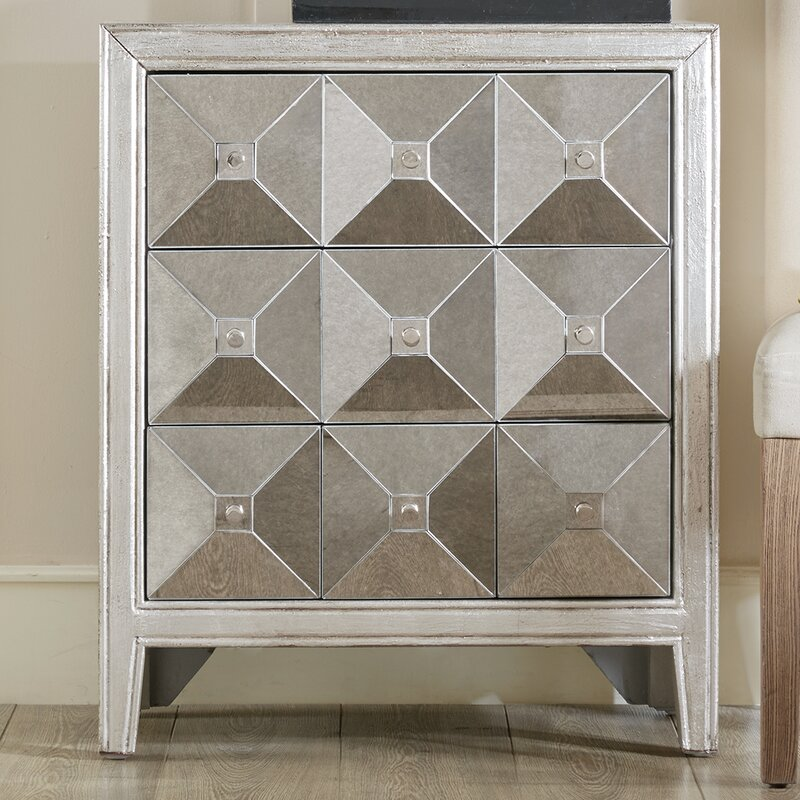 Emberto 3 Drawer Chest