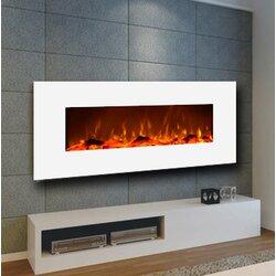 Zipcode Design Wall Mount Electric Fireplace & Reviews   Wayfair