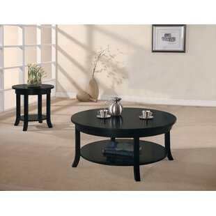 Hudock 2 Piece Coffee Table Set