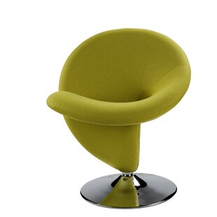 Orren Ellis Herkimer Swivel Lounge Chair