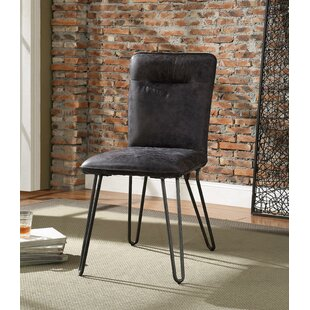 Sethi Pack Upholstered Dining Chair (Set of 2) Union Rustic