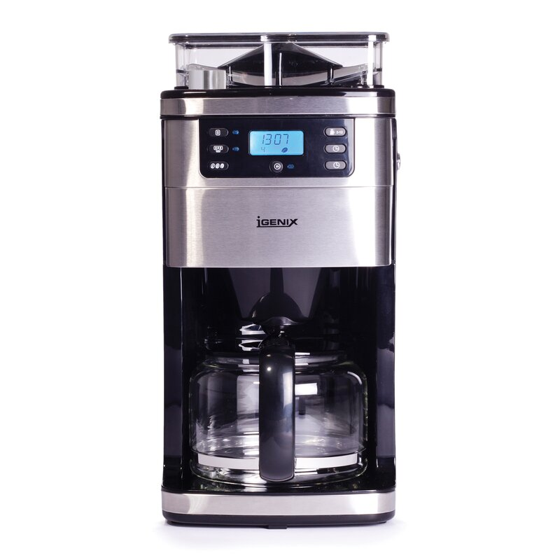 1050w 1 5l Bean To Cup Digital Filter Coffee Maker
