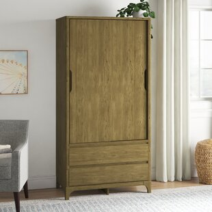 Cleek 2 Door Sliding Wardrobe By Mercury Row