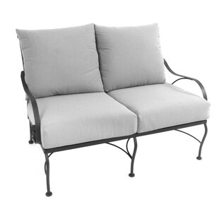 Monticello Deep Seating Loveseat with Cushion by Meadowcraft