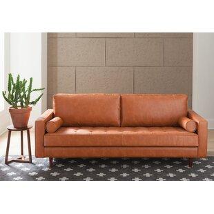 Bombay Genuine Leather Sofa
