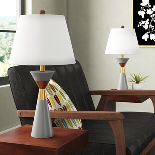 Borders 26.5 Table Lamp (Set of 2)