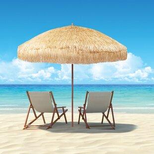 PePPer Hawaiian Style 7.5u0027 Beach Umbrella