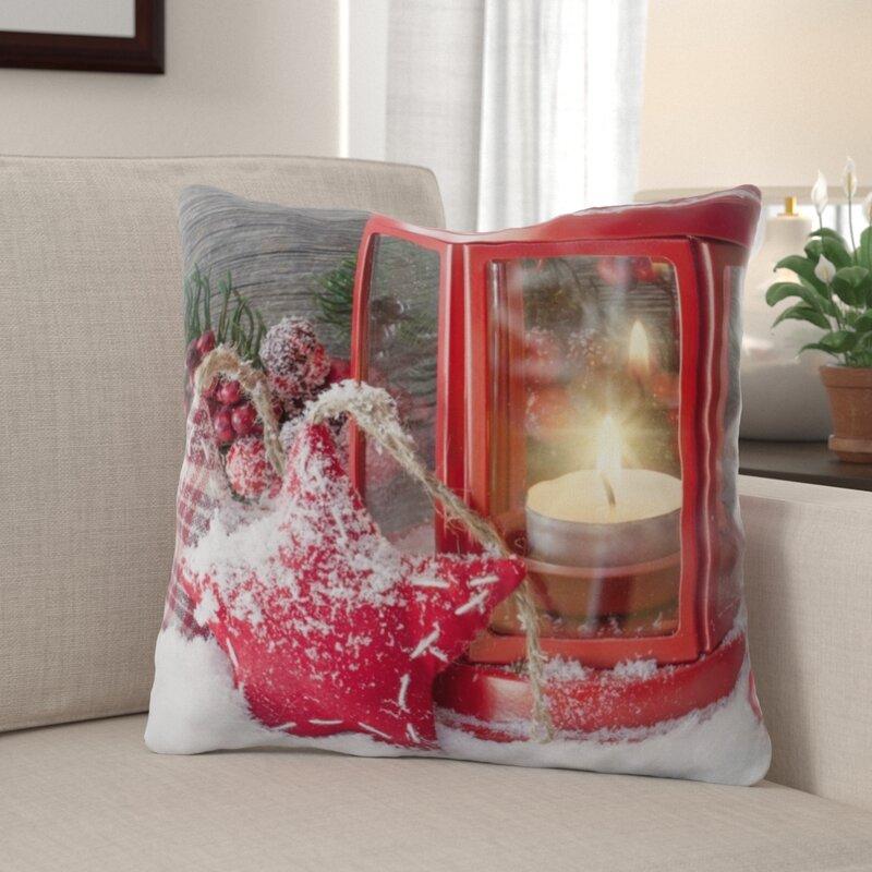 The Holiday Aisle Marleigh New Years Eve Indoor Outdoor Canvas Throw Pillow Wayfair