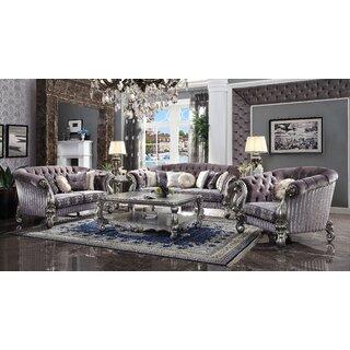 Welton 3 Piece Living Room Set by Astoria Grand SKU:CD892738 Reviews