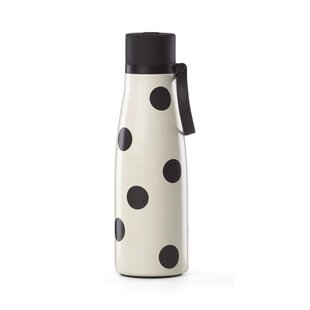All in Good Taste Deco Dot 16 oz. Stainless Steel Water Bottle