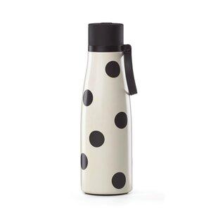 All in Good Taste Deco Dot 16 oz. Stainless Steel Water Bottle