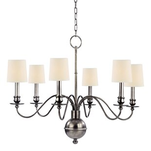 Darby Home Co Erby 6-Light Shaded Chandelier