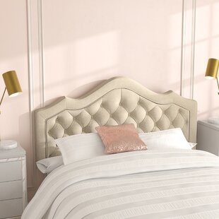 Wick, Somerset Queen Upholstered Panel Headboard by Willa Arlo Interiors
