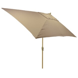 Hulme Solid 6.5' x 10' Rectangular Market Umbrella