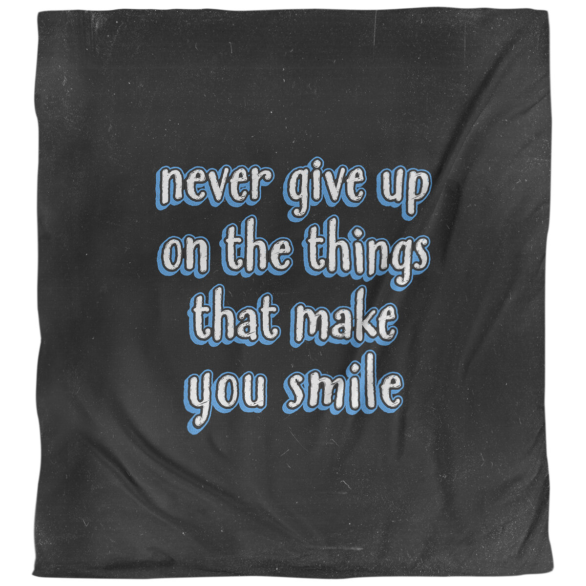 East Urban Home Joy And Perseverance Quote Single Duvet Cover Wayfair