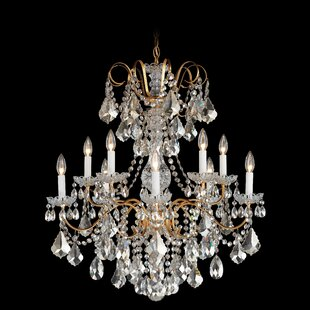 Schonbek New Orleans 10-Light Crystal Chandelier