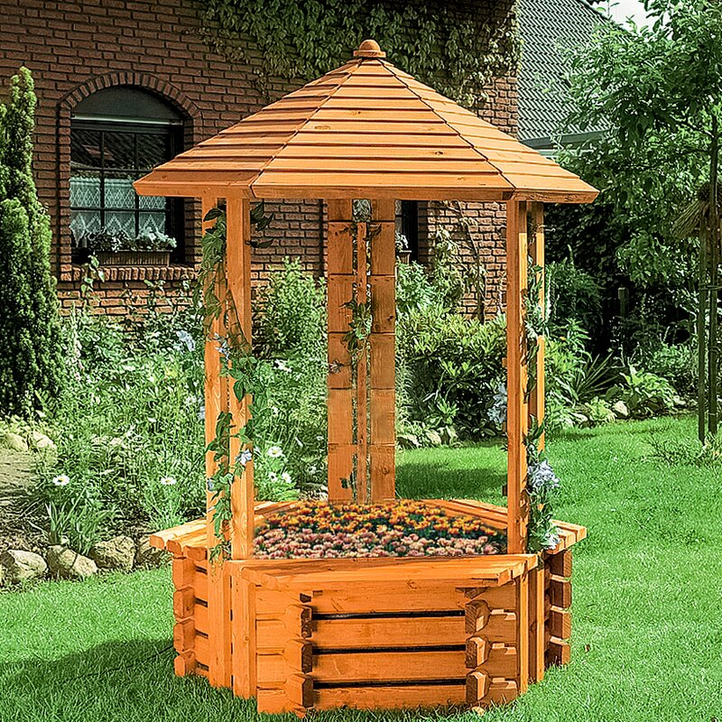 Brunnen Holz.Boden Brunnen Forli Aus Holz Mit Licht