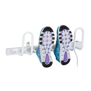 Buy clear Shoe Warmer 2 Pair Shoe Rack By Honey Can Do