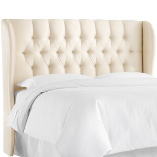 Darby Home Co Cutshall Upholstered Wingback Headboard