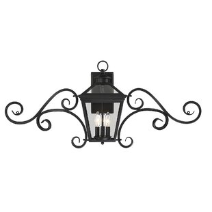 Top Reviews Coleg 3-Light Outdoor Wall Lantern By Darby Home Co