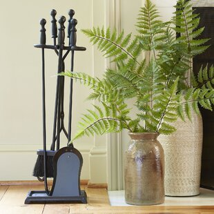 Annandale 4-Piece Fireplace Set By Darby Home Co
