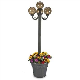 Read Reviews European 4-Light 80 Post Light By Patio Living Concepts