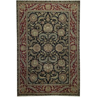 One-of-a-Kind Crown Select Handwoven 12'1 x 18'1 Wool Red/Black Area Rug By Bokara Rug Co., Inc.