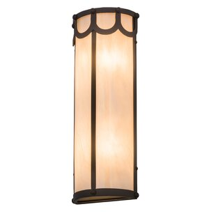 Savings Althea 2-Light Outdoor Flush Mount By Bloomsbury Market