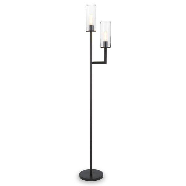 Zipcode Design Leyden 70 Torchiere Floor Lamp Reviews Wayfair