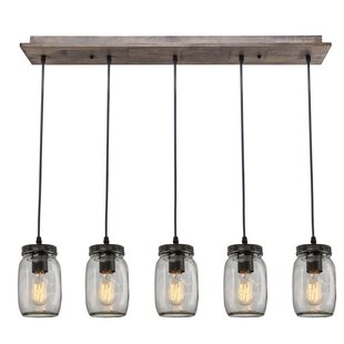 Great choice 5-Light Kitchen Island Pendant ByLNC Home
