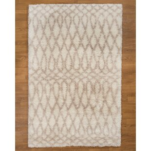 Prague Hand-Woven White/Ivory Area Rug By Natural Area Rugs