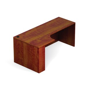 Offices To Go Superior Laminate Desk Shell with Corner Extension