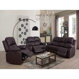 Nermin Faucher 3 Piece Reclining Living Room Set by Latitude Run®