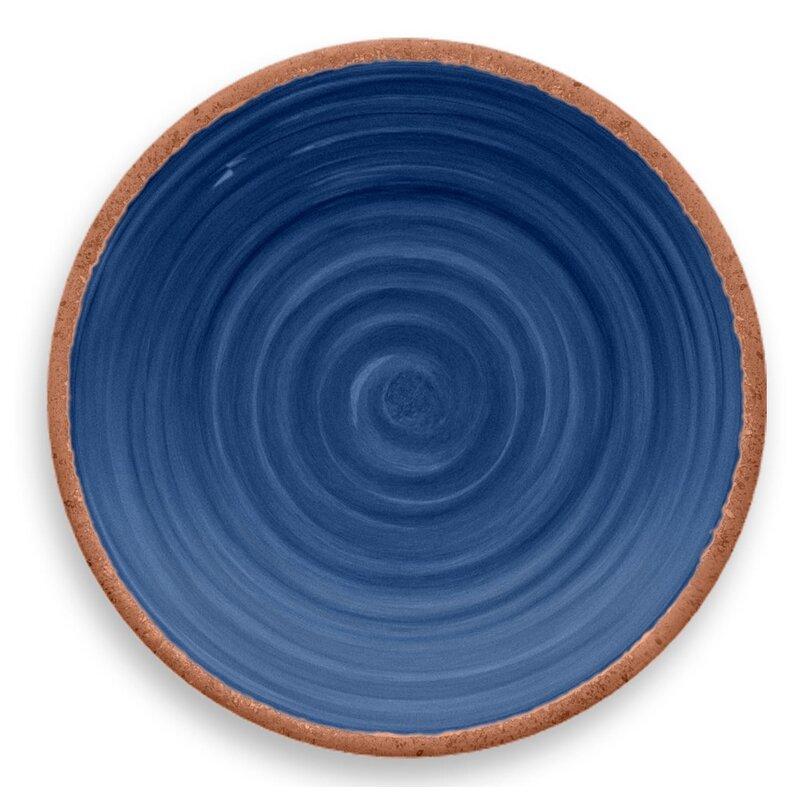 TarHong Rustic Swirl Melamine Salad Plate & Reviews | Wayfair