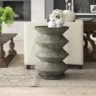 Wabbaseka Tray Top Abstract Lamp End Table By Greyleigh