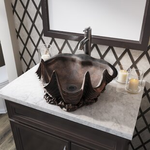Bronze Specialty Vessel Bathroom Sink by MR Direct