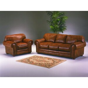 Winchester Leather Configurable Living Room Set by Omnia Leather