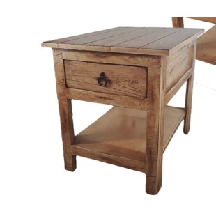 Rustic End Table by Americ..