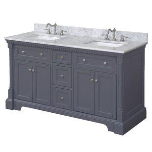Sydney 60 Double Bathroom Vanity Set By Kitchen Bath Collection