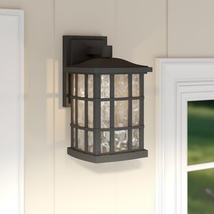 Modern contemporary outdoor wall lighting youll love lockett 1 light outdoor wall lantern workwithnaturefo