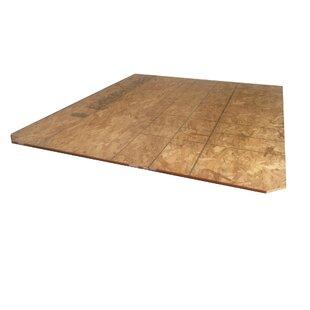 Durham Wood Decking Waterbed Mattress Top by Strobel Mattress
